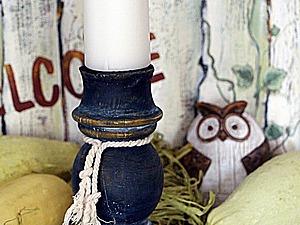 Мастерим подсвечник из фрагмента балясины | Ярмарка Мастеров - ручная работа, handmade