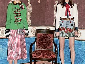 Цветное хулиганство Alessandro Michele: буйство креатива в коллекции Gucci Pre-Fall 2016. Ярмарка Мастеров - ручная работа, handmade.