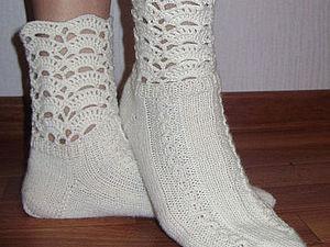 Конфетка! Уютные носочки для ваших ножек. | Ярмарка Мастеров - ручная работа, handmade