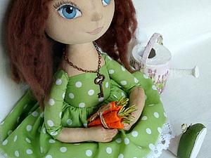 Осенние аксессуары для девочки в платье в горошек (посвещенно тематической неделе «Милый горошек», handmade