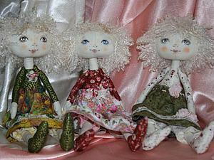 Текстильная кукла   Ярмарка Мастеров - ручная работа, handmade