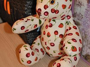 Шьем летнего мишку из поликоттона. Ярмарка Мастеров - ручная работа, handmade.