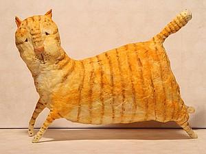 Мартовский кот из ваты. Ярмарка Мастеров - ручная работа, handmade.