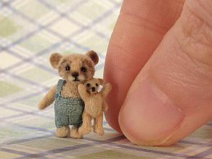 Мишки Тедди: большие и маленькие. Ярмарка Мастеров - ручная работа, handmade.