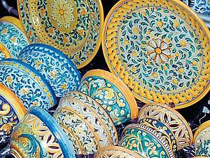 Мастер-класс по росписи керамики. Сицилийские традиции.   Ярмарка Мастеров - ручная работа, handmade