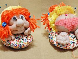 Шьем игольницу в виде куклы-попик | Ярмарка Мастеров - ручная работа, handmade