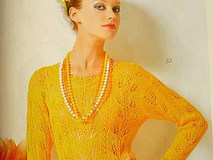 Желтый блузон из 567 ЖМ   Ярмарка Мастеров - ручная работа, handmade