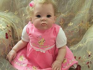 Малышка Кристина - куклы реборн Инны Богдановой | Ярмарка Мастеров - ручная работа, handmade