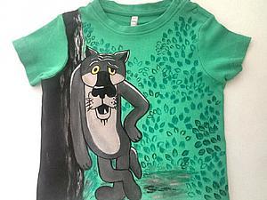 Расписываем детскую футболку. Ярмарка Мастеров - ручная работа, handmade.