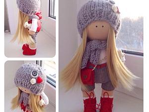Мастер -класс по шитью интерьерной текстильной кукле | Ярмарка Мастеров - ручная работа, handmade