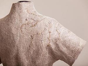 МК Жилет  или жакет с коротким рукавов  с фактурами | Ярмарка Мастеров - ручная работа, handmade