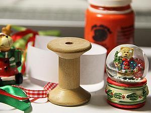 Загадай желание! Ёлочная игрушка с желаниями из катушки.   Ярмарка Мастеров - ручная работа, handmade