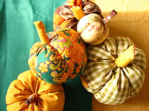 Тыква из ткани | Ярмарка Мастеров - ручная работа, handmade