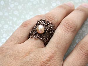 Ажурное кольцо снова в наличии! | Ярмарка Мастеров - ручная работа, handmade