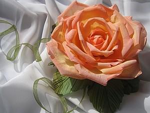 Текстильные цветы | Ярмарка Мастеров - ручная работа, handmade