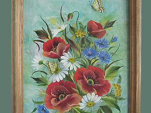 Мастер-классы по росписи (полевые цветы и ягоды) | Ярмарка Мастеров - ручная работа, handmade