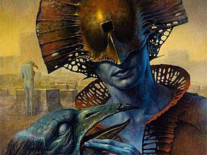 Постапокалиптический мир Dariusz Zawadzki: фантастические миры, полные мрачных существ   Ярмарка Мастеров - ручная работа, handmade