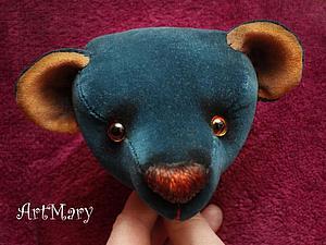 Мастер-класс для начинающих: шьем мишку Тедди. Часть 1: голова | Ярмарка Мастеров - ручная работа, handmade