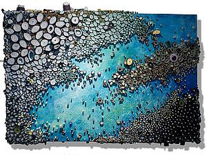 Удивительные абстракции Amy Eisenfeld Genser   Ярмарка Мастеров - ручная работа, handmade