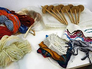 Прядение на веретене и арт-пряжа, веретено в ПОДАРОК! | Ярмарка Мастеров - ручная работа, handmade
