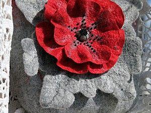 МК сумочка-цветок из кардочёса. | Ярмарка Мастеров - ручная работа, handmade