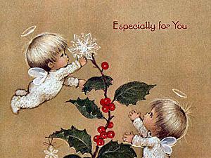 Рождественское волшебство в открытках Rute Morehead | Ярмарка Мастеров - ручная работа, handmade