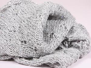 Аукцион. Сияющий шарф-снуд. | Ярмарка Мастеров - ручная работа, handmade