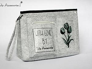 Как сделать из фетра загадочный «тинтамар», или Шьем органайзер в сумку | Ярмарка Мастеров - ручная работа, handmade