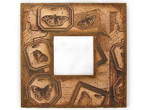 Пошаговый фото мастер-класс по декупажу зеркала в стиле Винтаж | Ярмарка Мастеров - ручная работа, handmade