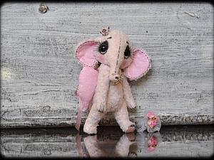 Аукцион с 0 на розового слоника! | Ярмарка Мастеров - ручная работа, handmade