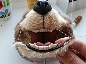 Как сделать зубки для тедди. Ярмарка Мастеров - ручная работа, handmade.