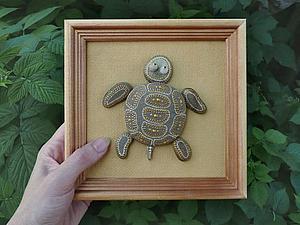 Каменная черепашка | Ярмарка Мастеров - ручная работа, handmade