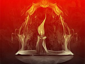 Восковые свечи ручной работы | Ярмарка Мастеров - ручная работа, handmade