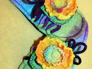 Мастер-класс по валянию тапочек-сандалий. | Ярмарка Мастеров - ручная работа, handmade