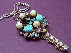 «Ключик непростой, ключик золотой»: оригинальные и необычные украшения из обычных ключей | Ярмарка Мастеров - ручная работа, handmade