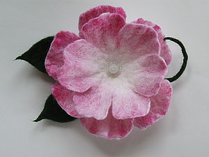 МК по валянию простых бескаркасных цветов. | Ярмарка Мастеров - ручная работа, handmade