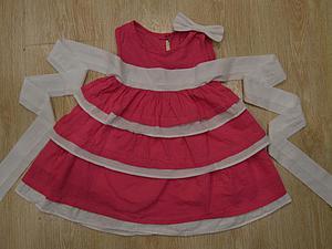 Шьем очаровательное летнее платье для девочки. Ярмарка Мастеров - ручная работа, handmade.