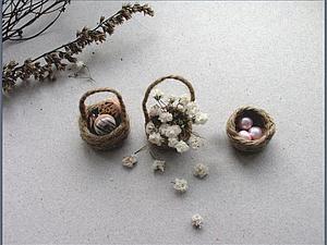 Мастер-класс: мини-корзиночки | Ярмарка Мастеров - ручная работа, handmade
