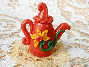 Чайник для куклы. | Ярмарка Мастеров - ручная работа, handmade