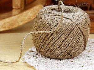 Волшебство джутового волокна. Ярмарка Мастеров - ручная работа, handmade.