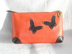 Курс по изготовлению сумок из кожи - клатч и косметичка из кожи | Ярмарка Мастеров - ручная работа, handmade