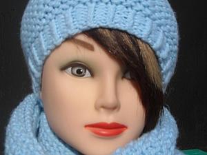 Акция! Комплект шапка+ снуд за 500 рублей! | Ярмарка Мастеров - ручная работа, handmade
