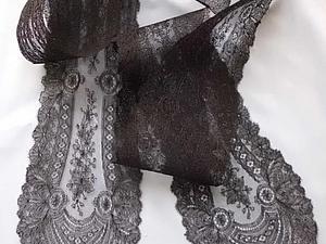 Как определить состав волокна в старинном кружеве. Ярмарка Мастеров - ручная работа, handmade.