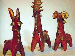Абашевская игрушка - народный промысел | Ярмарка Мастеров - ручная работа, handmade
