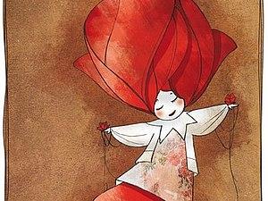Иллюстрации Nathalie Jomard | Ярмарка Мастеров - ручная работа, handmade