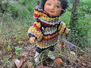 Грибной день кукол ))) - часть вторая: Паули ))) | Ярмарка Мастеров - ручная работа, handmade