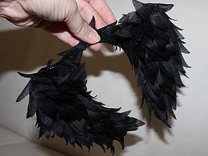 Как сделать крылья ангела для куклы. Ярмарка Мастеров - ручная работа, handmade.