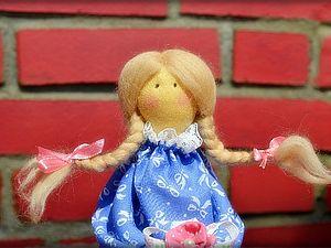 Принцесса на горошине. часть 2. Прическа для куклы. Корона из пластики.. Ярмарка Мастеров - ручная работа, handmade.