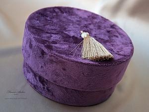 Бархатный гламур | Ярмарка Мастеров - ручная работа, handmade