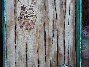 Декорирование подноса для сладостей в стиле шебби-шик. Ярмарка Мастеров - ручная работа, handmade.